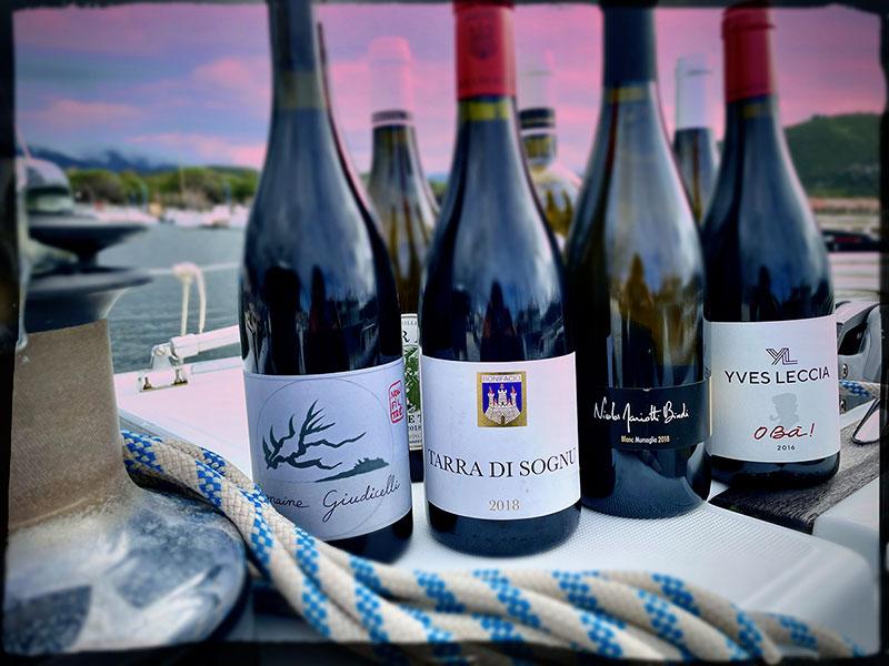Sélection de vins corses