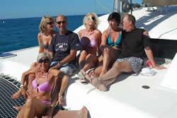 Croisière catamaran entre amis