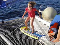 Location catamaran famille
