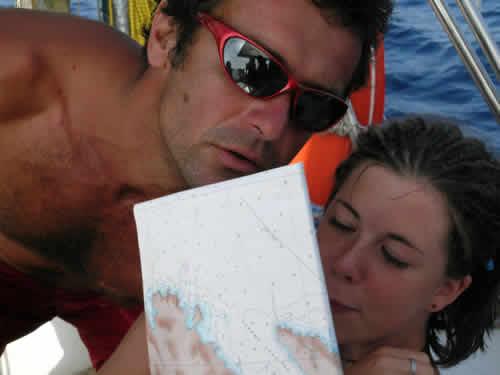 Apprentissage des plus jeunes sur une location de monocoque en Corse