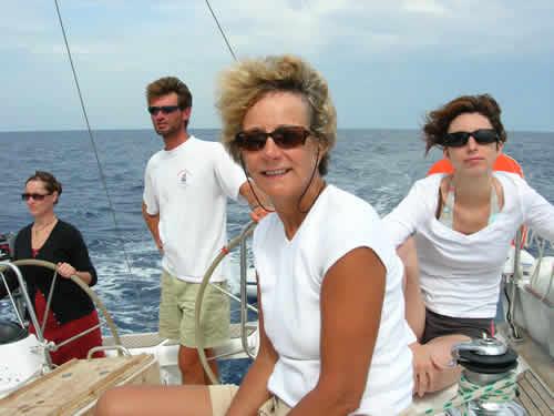 Croisière à la cabine sur un voilier moncoque en Corse
