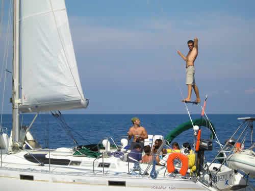 Le voilier un espace de liberté lorsqu'on le combine avec un skipper