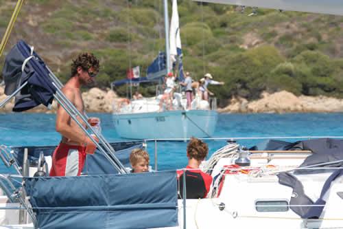 Location de voilier en famille avec les enfants en Corse