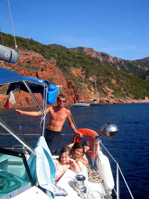 Skipper c'est la décontraction et la sécurité à bord du voilier