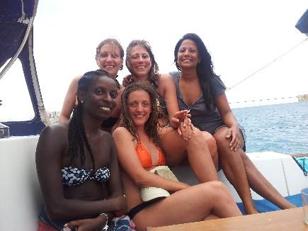 Toutes réunies sur cette croisière à la voile en Corse