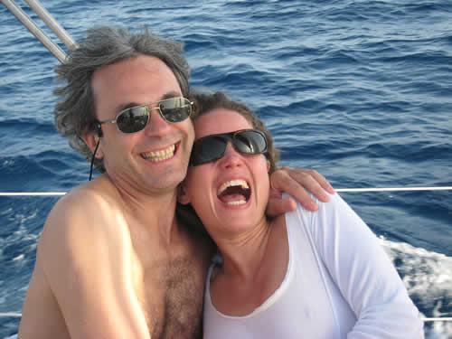 Un bonheur partagé à eux sur cette croisière à la cabine en Corse