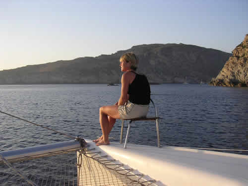 Un rêve de solitude sur cette croisière catamaran en Corse