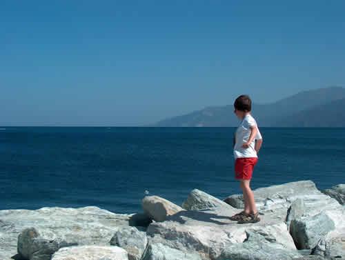 Vacances à la voile en famille en Corse