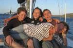 Amusons nous sur cette croisière en famille, la skipper est une femme