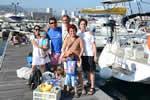 Avant le départ pour une croisière en famille sur un voilier de location en Corse