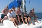Croisière sur voilier catamaran pour réunir la grande famille