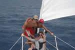Jeunes à l'abordage sur cette croisière famille en Corse