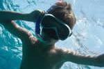 Masque et tuba sur cette croisière en famille sur la Corse et la Sardaigne