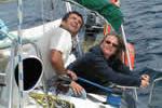 Réglage de génois pour cette croisière à la voile en Corse