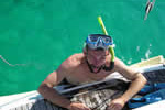 Retour d'apnée sur un mouillage en Corse lors d'une location de bateau