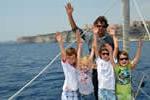 Tous à l'abordage de Bonifacio, les enfants d'abord sur ce voilier moncoque avec skipper