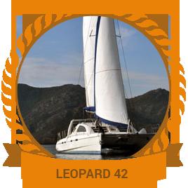 CATAMARAN LEOPARD 42