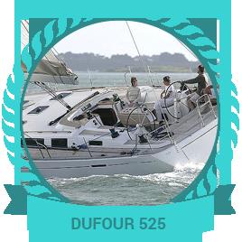 Monocoque Dufour 525