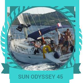 Voilier SUN ODYSSEY 45